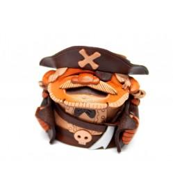 Pirates Handmade Leather Eyeglasses Holder/Stand #26226
