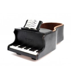 Piano Handmade Leather Eyeglasses Holder/Stand #26219