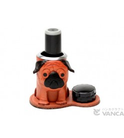Pug Leather Seal Stand #26297