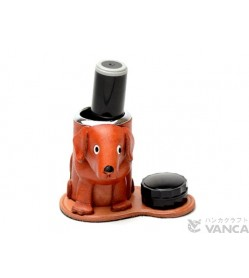 Labrador Retriever Leather Seal Stand #26294