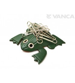 Frog Leather Magnet Clip holder #26251