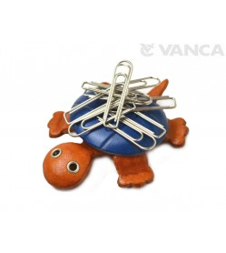 Turtle Leather Magnet Clip holder #26254