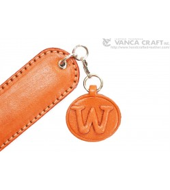Initial W Leather Paper Knife