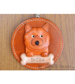Shiba Leather Wall Deco