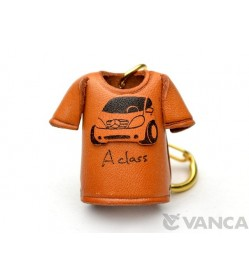 Mercedes-Benz T-shirt Leather Keychain