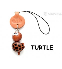 Turtle Japanese Leather Cellularphone Charm Fish
