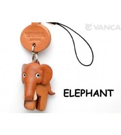 Elephant Japanese Leather Cellularphone Charm Animal