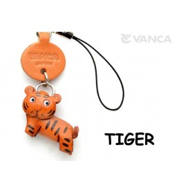 Tiger Japanese Leather Cellularphone Charm Animal