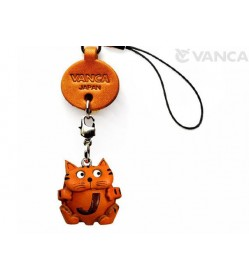 Cat JLeather Cellularphone Charm Alphabet