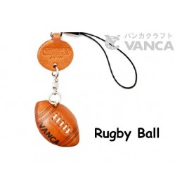 Rugby Ball Japanese Leather Cellularphone Charm Goods