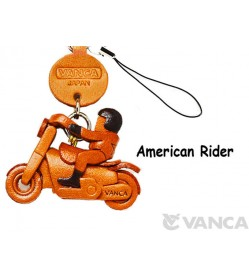 American Rider Japanese Leather Cellularphone Charm Goods