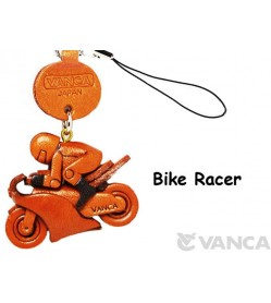 Bike Racer Japanese Leather Cellularphone Charm Goods