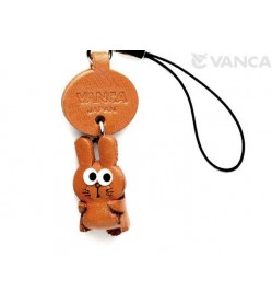 Rabbit Japanese Leather Cellularphone Charm Zodiac Mascot