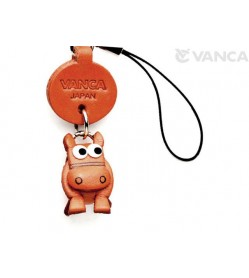 Horse Japanese Leather Cellularphone Charm Zodiac Mascot