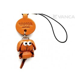 Dog Japanese Leather Cellularphone Charm Zodiac Mascot
