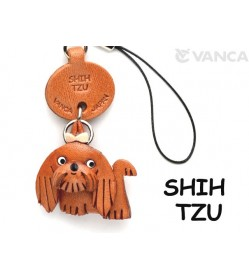 Shih Tzu Leather Cellularphone Charm #46760