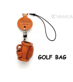 Golf bag Japanese Leather Cellularphone Charm Goods