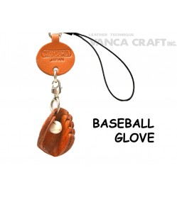 Baseball Glove Japanese Leather Cellularphone Charm Goods