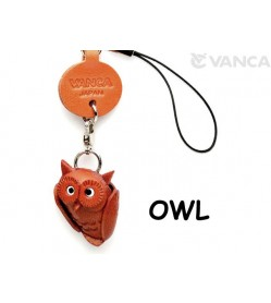 Owl Japanese Leather Cellularphone Charm Goods