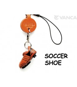 Soccer shoe Japanese Leather Cellularphone Charm Goods