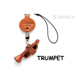 Trumpet Leather Cellularphone Charm