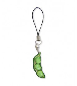 Fava Beans Leather Cellularphone Charm Vegetables