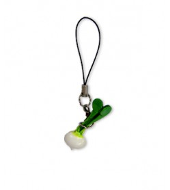 Beet Leather Cellularphone Charm Vegetables