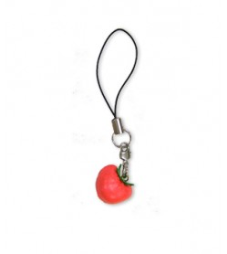 Tomato Leather Cellularphone Charm Vegetables