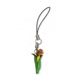 Corn Leather Cellularphone Charm Vegetables
