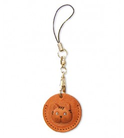 Cat Japanese Leather Cellularphone Charm Coin cases #46442