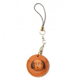 Dog Japanese Leather Cellularphone Charm Coin cases #46443