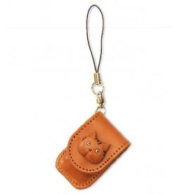 Cat Japanese Leather Cellularphone Charm Memo set