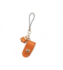 Dog Japanese Leather Cellularphone Charm Pencil case