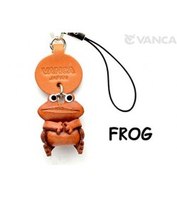 Frog Japanese Leather Cellularphone Charm Animal