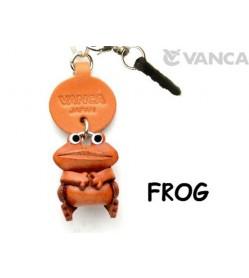 Frog Leather Animal Earphone Jack Accessory