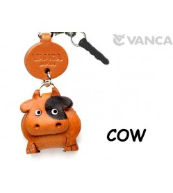 Cow Leather Animal Earphone Jack Accessory