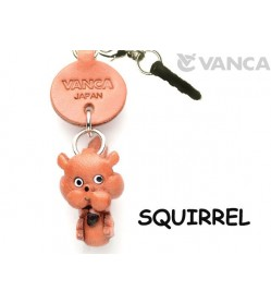 Squirrel Leather Animal Earphone Jack Accessory