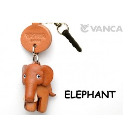 Elephant Leather Animal Earphone Jack Accessory
