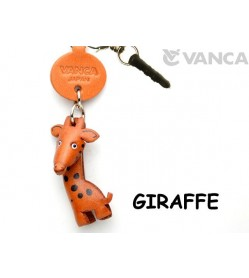 Giraffe Leather Animal Earphone Jack Accessory