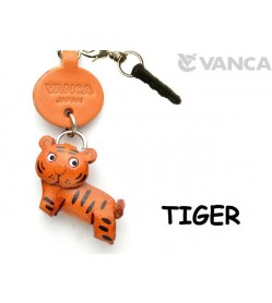 Tiger Leather Animal Earphone Jack Accessory