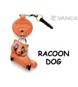 Racoon dog Leather Animal Earphone Jack Accessory