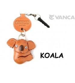 Koala Leather Animal Earphone Jack Accessory