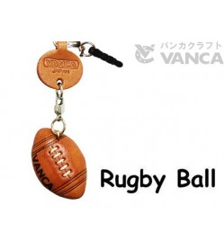 Rugby Ball Leather goods Earphone Jack Accessory
