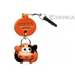 Cow Leather Little Animal Earphone Jack Accessory