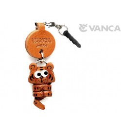 Tiger Leather Little Animal Earphone Jack Accessory