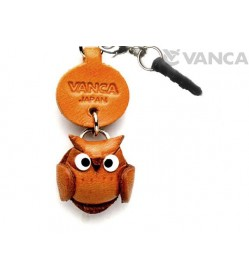 Owl Leather Little Animal Earphone Jack Accessory