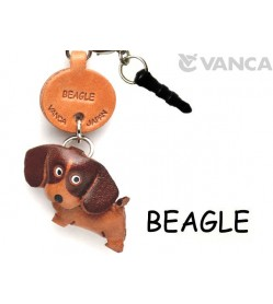 Beagle Leather Dog Earphone Jack Accessory