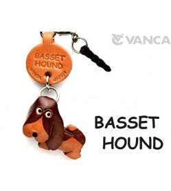 Basset Hound Leather Dog Earphone Jack Accessory
