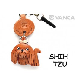 Shih Tzu Leather Dog Earphone Jack Accessory