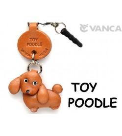 Toy Poodle Leather Dog Earphone Jack Accessory